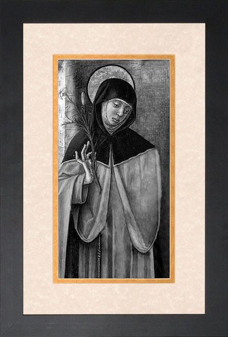 St. Catherine of Siena Framed Art