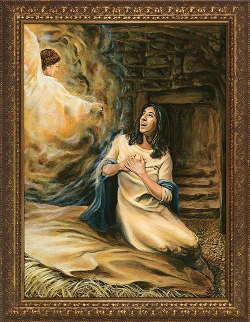 Annunciation by Jason Jenicke - Standard Gold Framed Art