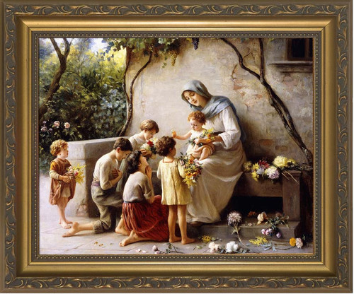 Adoration by Giuseppe Magni Framed Art