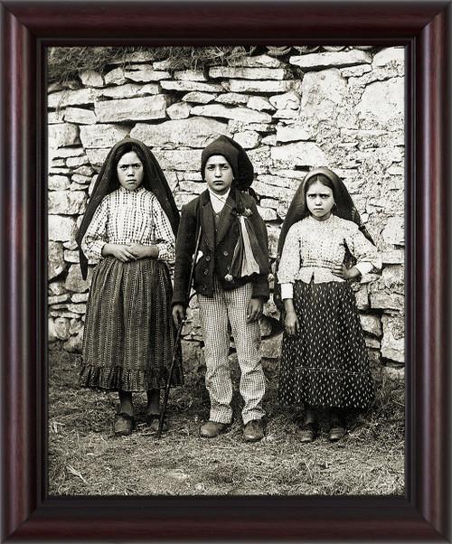 Children of Fatima Framed Art