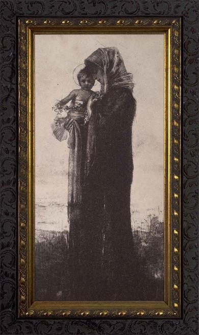Antique Madonna and Child