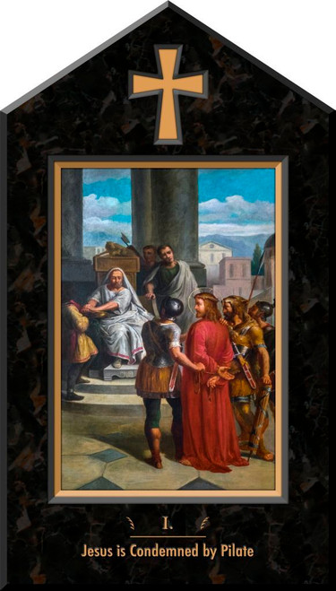 Bertucci Indoor Station of the Cross Icon Plaques (Set of 14)
