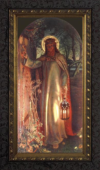 Light of the World - Ornate Dark Framed Art