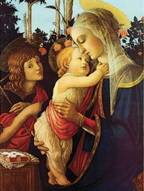 Virgin and Her Child Print
