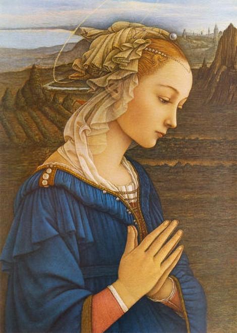 Virgin by Lippi Print