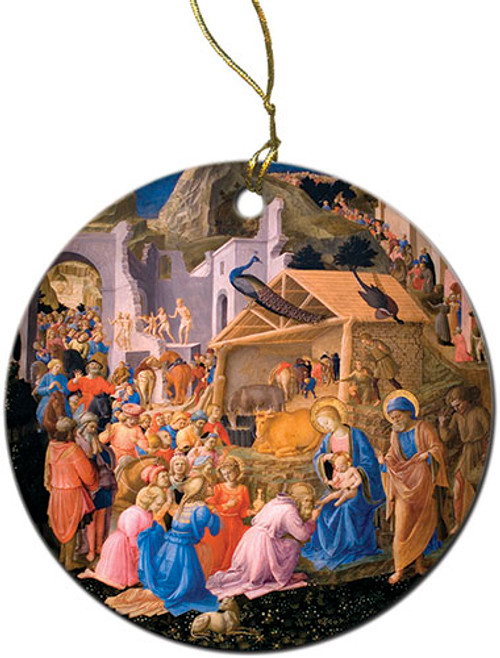 Adoration of the Magi Ornament