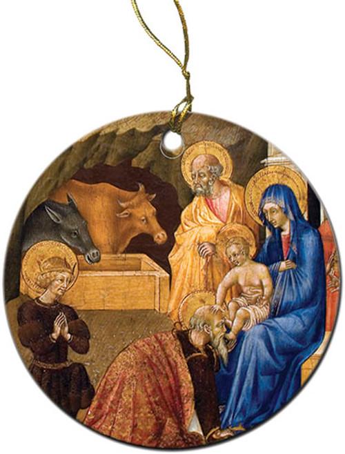 Adoration of the Three Magi Ornament