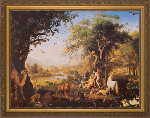 Earthly Paradise Framed Art