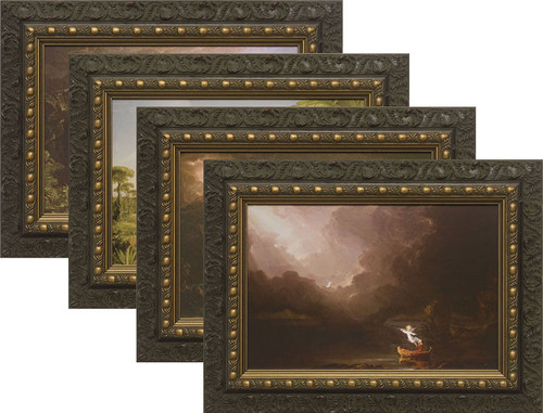 The Voyage of Life (Set of Four) Framed Arts