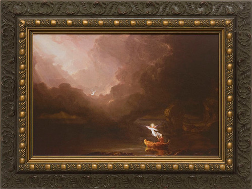 The Voyage of Life: Old Age Framed Art