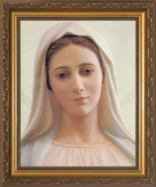 Our Lady of Medjugorje Framed Art