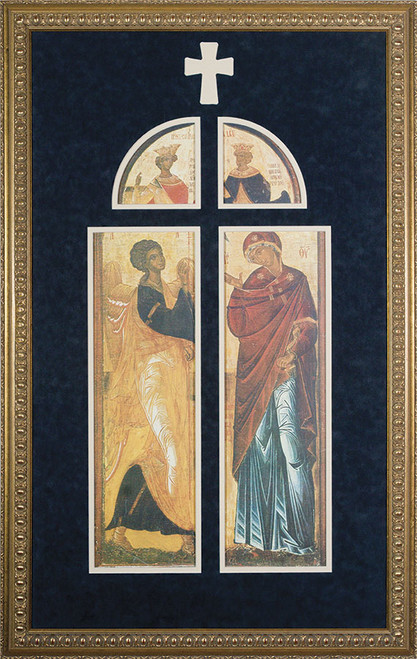 Annunciation Icon Framed Art