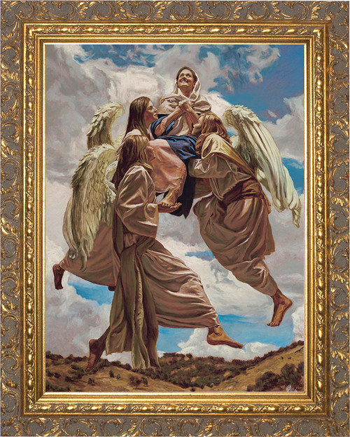 Assumption into Heaven by Jason Jenicke Gold Framed Art