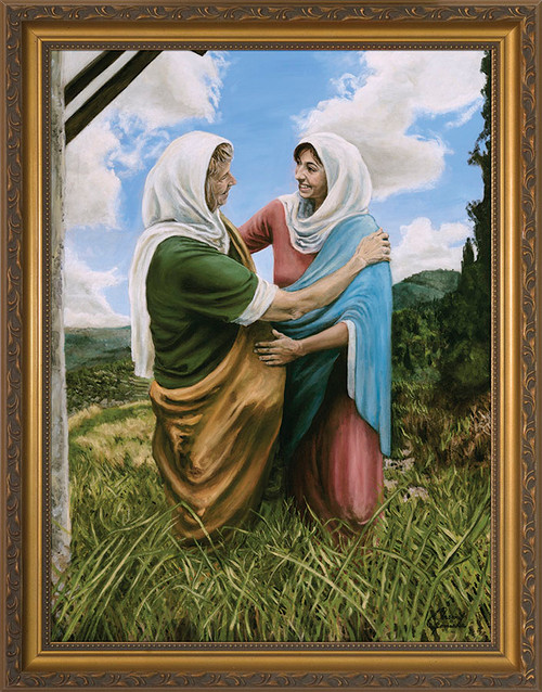 The Visitation II by Jason Jenicke - Standard Gold Framed Art