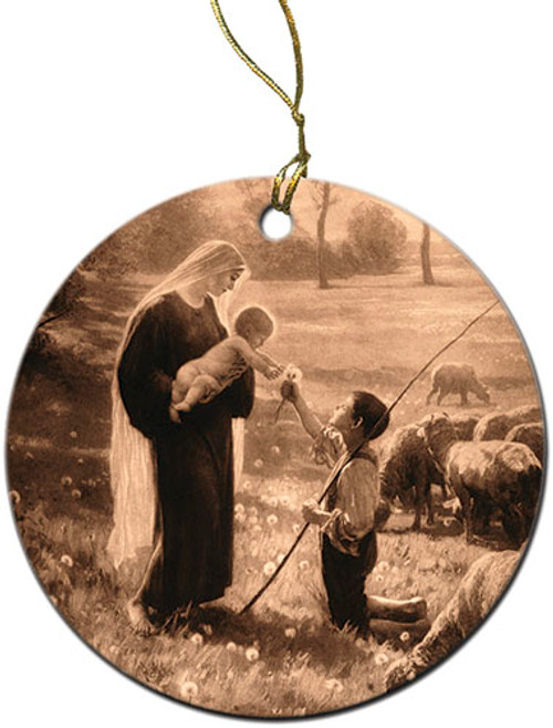 Gift of the Shepherd Ornament