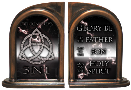 Trinity 3N1 Storm Bookends