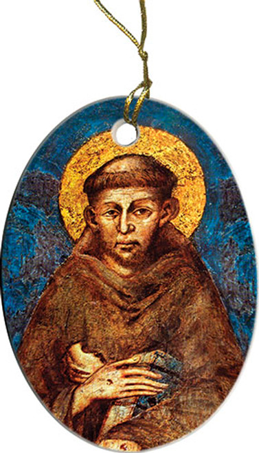 St. Francis of Assisi Ornament