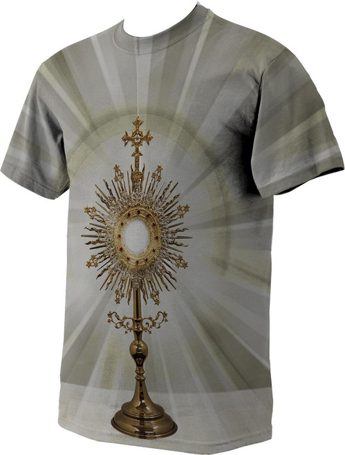 Monstrance Graphic Poly T Shirt
