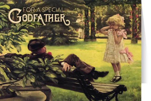 Godfather Greeting Card