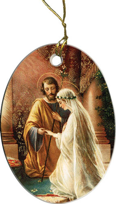 Marriage of Joseph & Mary Ornament