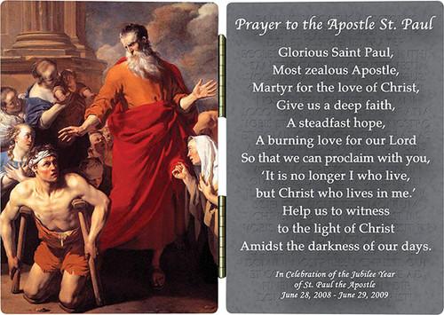 St. Paul Heals the Cripple Diptych