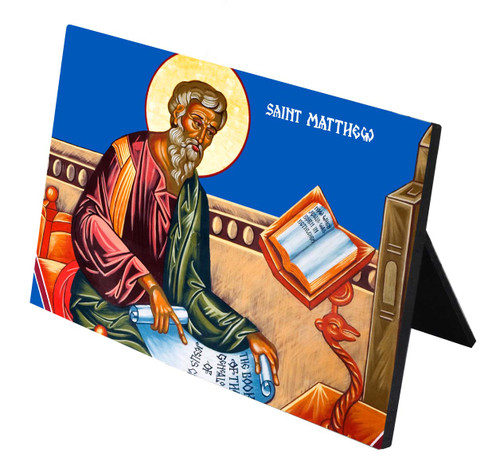 St. Matthew Horizontal Desk Plaque