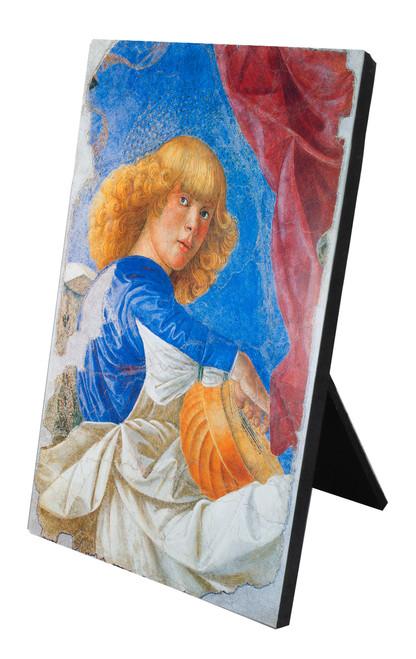 Blonde Angel Vertical Desk Plaque