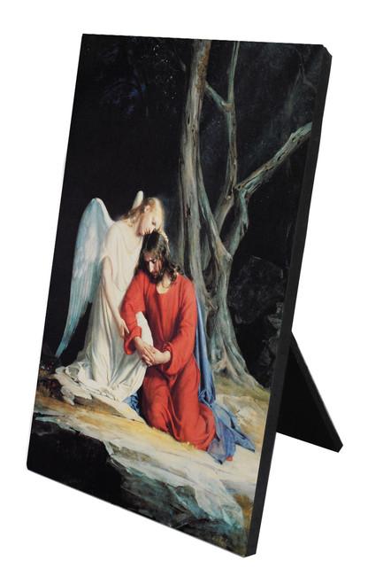 Gethsemane Vertical Desk Plaque