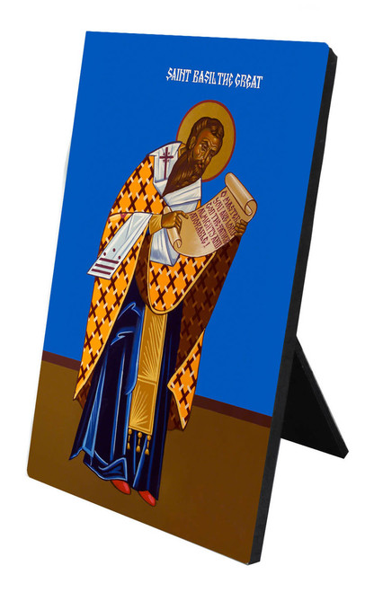 St. Basil the Great Vertical Desk Plaque