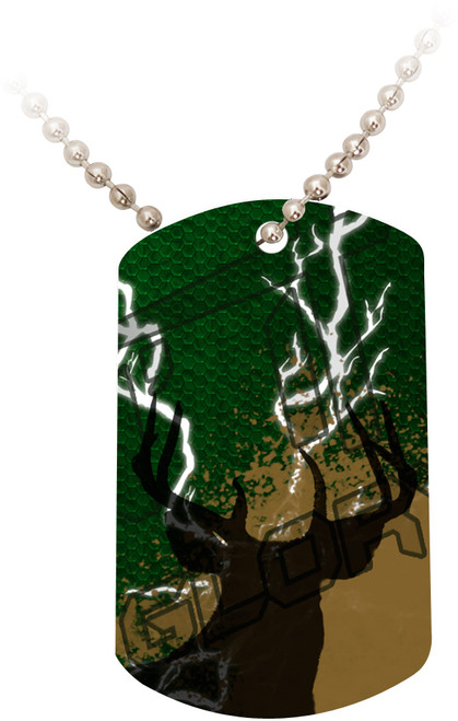 """Doing It All"" Hunting Dog Tag"