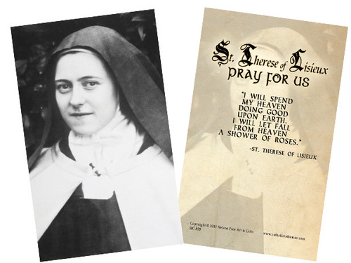 St. Therese (Portrait) Holy Card