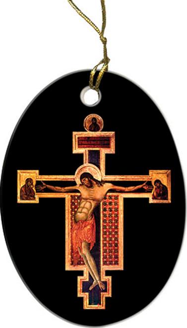 Byzantine Crucifix Ornament
