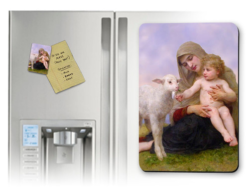 Virgin and the Lamb Magnet