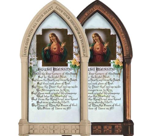 Sacred Heart Prayer Home Doorpost Blessing
