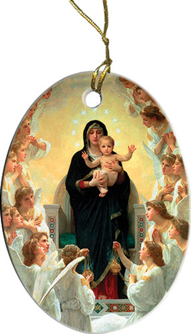 Queen of the Angels Ornament