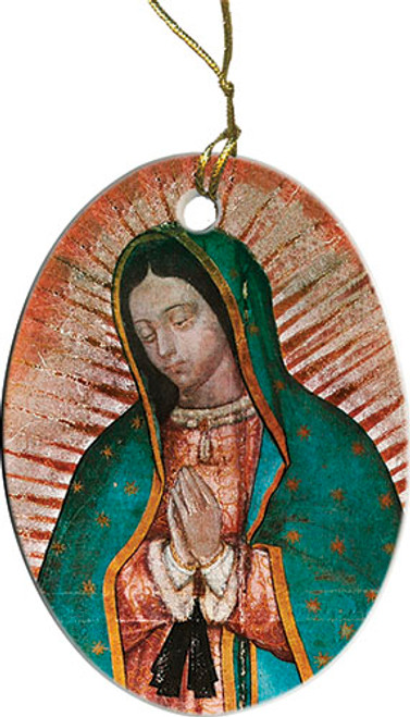Our Lady of Guadalupe Detail Ornament