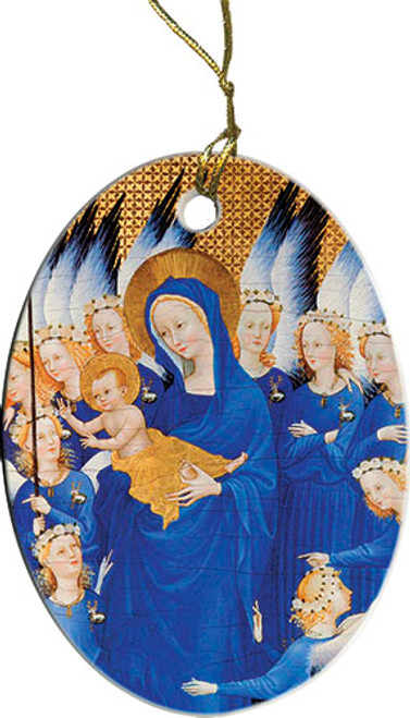 Madonna with Infant Ornament