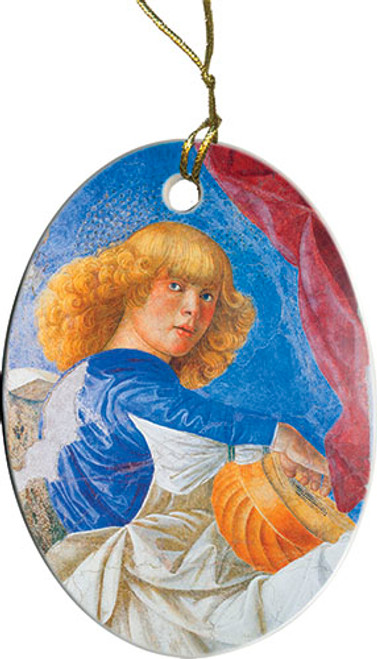 Blonde Angel Ornament