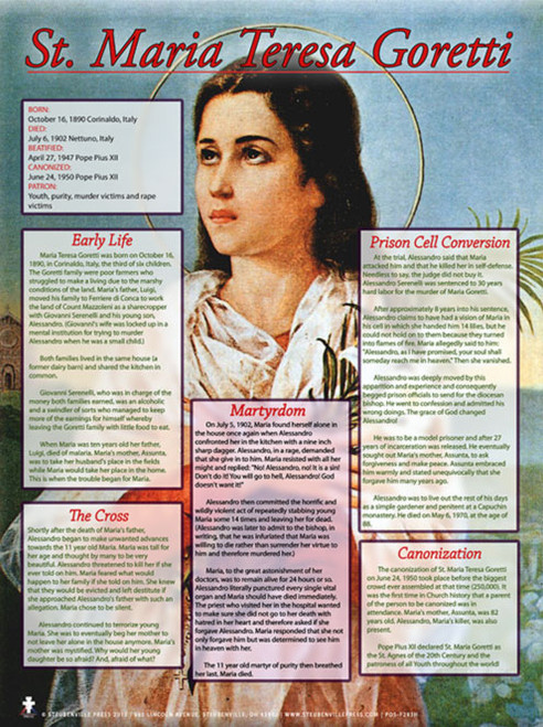 Saint Maria Goretti Explained Poster