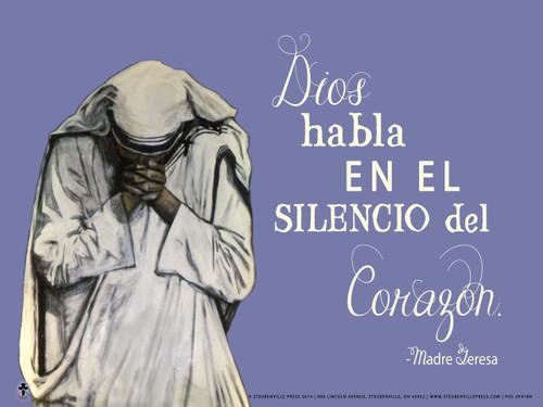 Spanish God Speaks Poster II