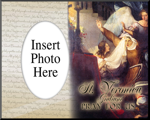St. Veronica Giuliani Photo Frame