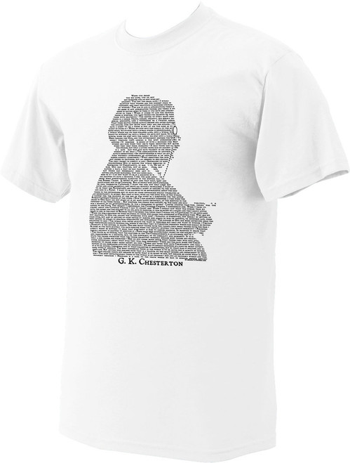 G.K. Chesterton Quote T-Shirt