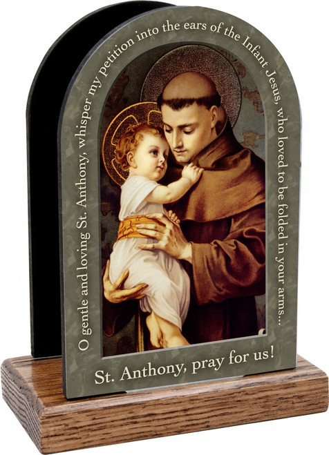 St. Anthony Prayer Table Organizer (Vertical)