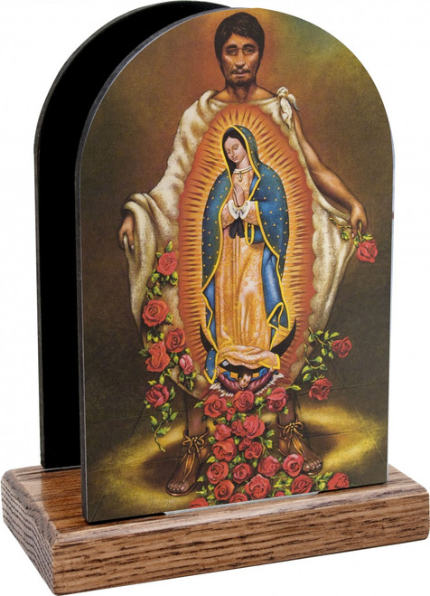 St. Juan Diego Table Organizer (Vertical)