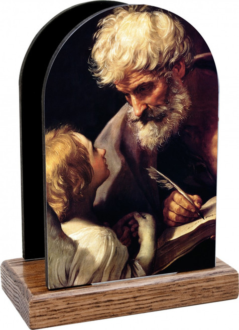 St. Matthew and the Angel Table Organizer (Vertical)