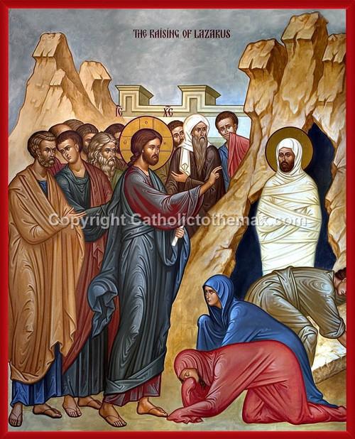 The Raising of Lazarus Icon Wall Plaque