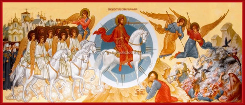 The Last Judgment Icon Wall Plaque