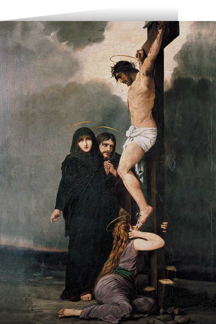 Crucifixion Greeting Card