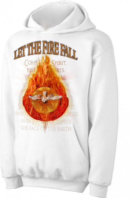 Let the Fire Fall Hoodie
