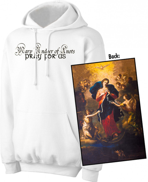 Mary Undoer of Knots Value Graphic Hoodie